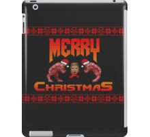 Christmas sweater for Doomguy iPad Case/Skin