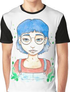 Blue girl Graphic T-Shirt
