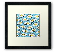 funny eggs Framed Print