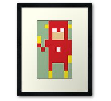 8-Bit Flash Framed Print