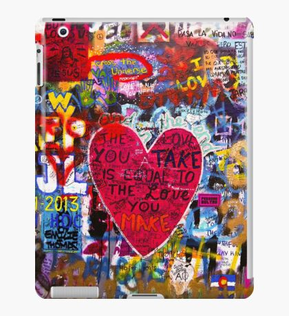 Street graffiti iPad Case/Skin