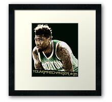 Young Game Changer Framed Print