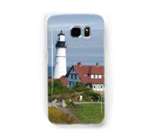 Portland Headlight Lighthouse Samsung Galaxy Case/Skin