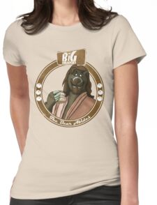 The Bear Abides Womens Fitted T-Shirt