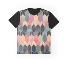Stained Glass 3 Graphic T-Shirt