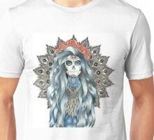 Day of the Dead Woman Mandala Unisex T-Shirt