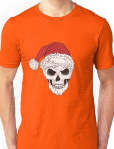 Scary Christmas Skull Unisex T-Shirt