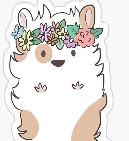 Pretty Hamster Sticker