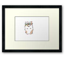 Pretty Hamster Framed Print