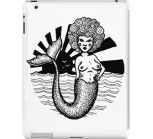 Mermaid Black Power iPad Case/Skin