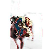 Boxer mania Photographic Print