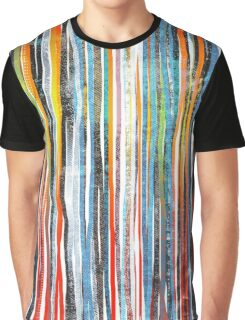 color stripes Graphic T-Shirt