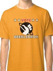 Vote Beeblebrox - Hitchhiker's guide to the galaxy Classic T-Shirt