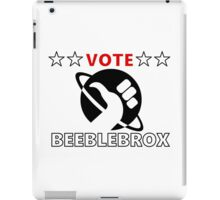 Vote Beeblebrox - Hitchhiker's guide to the galaxy iPad Case/Skin