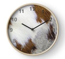 A Patch of Cowhide. Clock