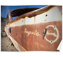Desert Impala Poster