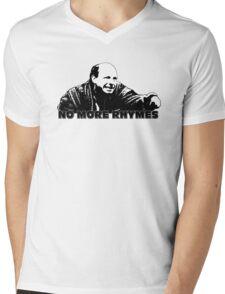 No More Rhymes Mens V-Neck T-Shirt