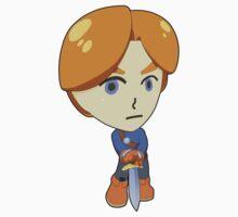 Super Smash Bros. Mii Swordfighter Kids Tee