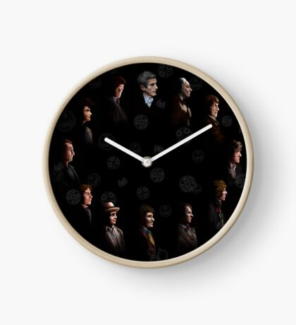 All Doctor regeneration Clock