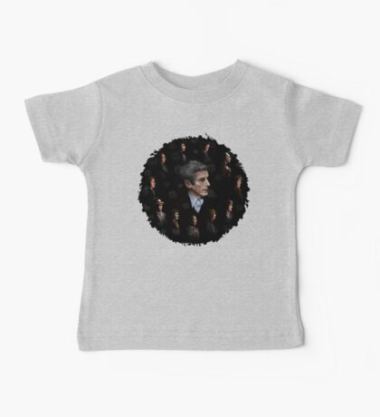 All Doctor regeneration Baby Tee