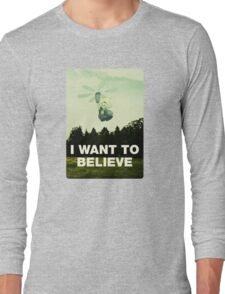 Believe in Peridot Long Sleeve T-Shirt