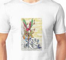 Lugia & Ho-Oh Painting Unisex T-Shirt