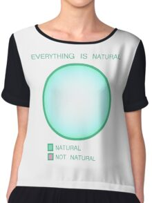 Everything is Natural Chiffon Top