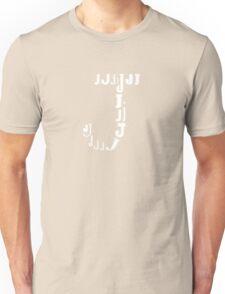 Found Letters - J Unisex T-Shirt