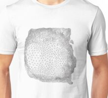 Abstract geometric triangulation design Unisex T-Shirt