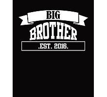 Big Brother white Photographic Print