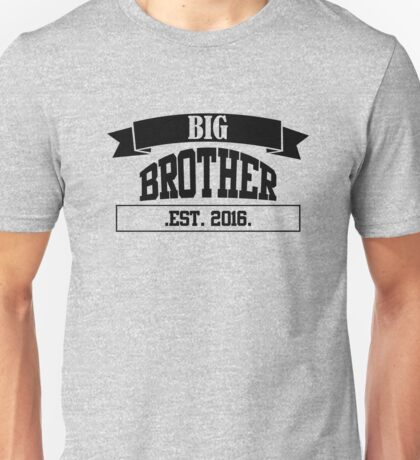 Big Brother black Unisex T-Shirt