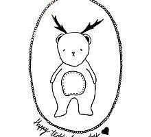 Happy Teddy Bear Day by ipekbalci