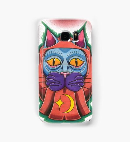 Lucky daruma cat Samsung Galaxy Case/Skin