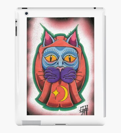 Lucky daruma cat iPad Case/Skin