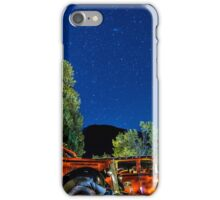 Jammers Resting at Lake McDonald Lodge iPhone Case/Skin