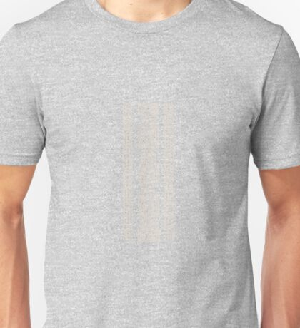 Cable Row Grey Unisex T-Shirt