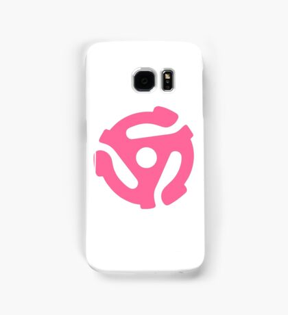 Breast Cancer Awareness Record Adapter Samsung Galaxy Case/Skin