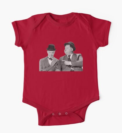 Laurel and Hardy One Piece - Short Sleeve