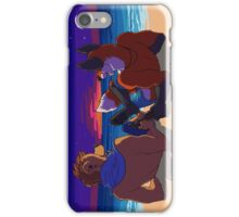 Beer on the beach iPhone Case/Skin