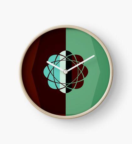Atomic Green Earth Clock