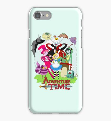 Fionna and Cake - Alice in wonderland iPhone Case/Skin