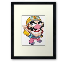 Super Smash Bros. Wario Framed Print