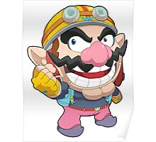 Super Smash Bros. Wario Poster