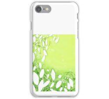leaf designs iPhone Case/Skin