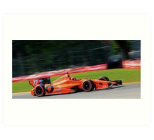 Simon Pagenaud- Mid Ohio 2014 Art Print