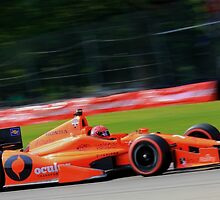 Simon Pagenaud- Mid Ohio 2014 by topkartracer
