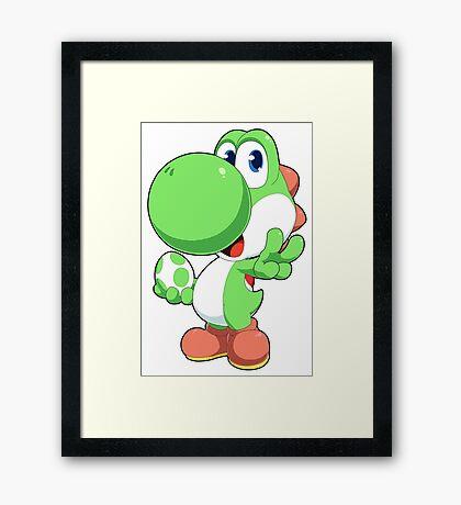 Super Smash Bros. Yoshi Framed Print