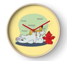 Stupid Dogs Clock