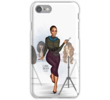 Girl Boss - The Hairstylist iPhone Case/Skin