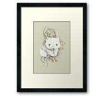 Wombat! Framed Print